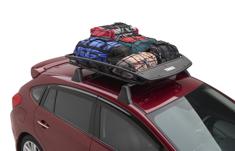 2017 subaru outback thule heavy duty roof cargo basket easy soa567c010 torrington ct. Black Bedroom Furniture Sets. Home Design Ideas